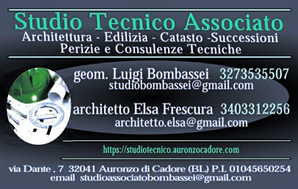 architetto Auronzo Cadore Cortina Belluno geometra perito Studio Tecnico